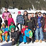 Team LRC-Lienz beim Schwarzachlauf in St. Veit in Defereggen 2014