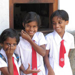 Schülerinnen in Galle