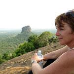 ... alleine auf dem Nebengipfel des Sygiria Rock
