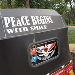 Peace begins with a Smile