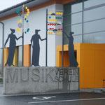 MUSENSPIEL - VORPLATZ LMS PICHL, 2011, STAHL / ACRYLGLAS, 400 X 400 X 80 CM