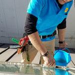 ガラスの汚れ付着防止剤