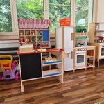 Spielgruppe Eichhörnli Wetzikon - Spielküche und Verkaufsladen
