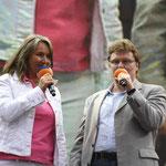 Kerstin Werner, NDR 1 Niedersachsen-Musikchef Henry Gross