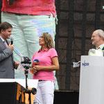 Innenminister Uwe Schünemann, Kerstin Werner, Bürgermeister Wolfgang Nolte
