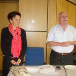 Sabine Tippelt und Waldemar Fischer