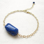 ブレスレット 天然石:ラピスラズリ B11