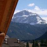 TOP-CLASS MANSARDE PRESTIGE*****: Aussicht vom Balkon des Doppelzimmers