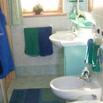 TOP-CLASS MANSARDE PRESTIGE*****: Badezimmer des Doppelzimmers