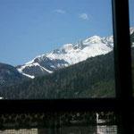 TOP-CLASS MANSARDE PRESTIGE*****: Aussicht vom Balkon des Wohnzimmers