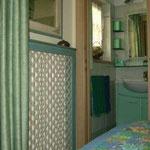 TOP-CLASS MANSARDE PRESTIGE*****: Eingang zum Badezimmer des Doppelzimmers