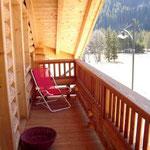 TOP-CLASS MANSARDE PRESTIGE*****: Balkon des Zweibettzimmers
