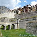 die Festungsstadt Briancon