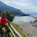 Radtour um den Reschen See zum Abschluß