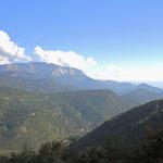 Zufahrt zum Col de Rousset