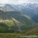 Südrampe zum Col de La Bonette