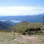 Blick vom Monta Mottarone