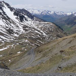 Westrampe vom Col du Tourmalet