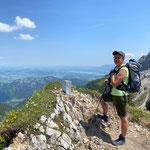 Blick zum Forggensee und Hopfensee bei Füssen