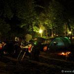 ...und abends wieder zurück auf dem Campingplatz