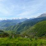 Anfahrt zum Col de Aspin