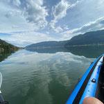 Kajaktour auf dem Ossdiacher See