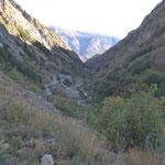 Auffahrt zum Colle della Lombarde