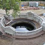 die angebliche Quelle im fürstlichen Park zu Fürstenberg (z.Z. im Umbau)