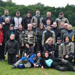 das obigatorische Gruppenfoto