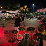 eine Deep Purple cover Band im RockCafe in Lazise