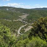 A 2205 Rund um den Barranco de las Gargantas