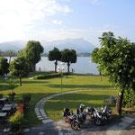 am Lago di Garda angekommen - Hotel Stella del Benaco