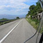 …und wieder der Blick auf die Adria