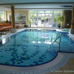 der Wellnessbereich im Hotel