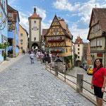 Das Plönlein, das Wahrzeichen von Rothenburg