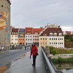 die Brücke von Görlitz nach Zgorzelec