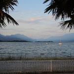 Abendstimmung am Gardasee in Lido de Manerba