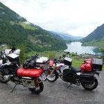...und dann ging's los in die Schweiz ( Lungernsee)