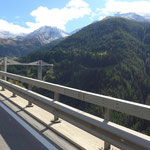 Ganterbrücke, war bis 2014 in der Schweiz die Brücke mit der größten Spannweite