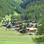 ...die typischen Walliser Dörfer