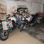 …auch die Mopeds hatten ein Hotelzimmer ;-)