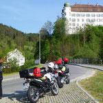 Anreise, kurzer Stopp in Mülheim a.d. Donau