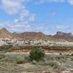 Parque Natural de las Bardenas Reales - das Pisquerra Gebirge