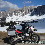 Aufstieg zum Passo di Giau
