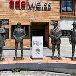 """die Beatles in Obertauern - hier wurde 1965 der Film """"Help"""" gedreht"""