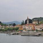 Blick auf Laveno am Lago Maggiore
