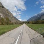 Zufahrt zum Col de Ornon