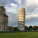Abendrundgang in Pisa