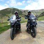 Anke und Alex sind begeistert von den Pyrenäen - sie werden wieder kommen
