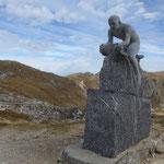 Denkmal an Radsportprofi Marco Pantani